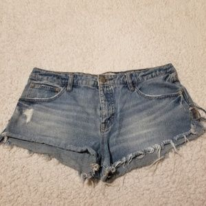 Free People Deniem Shorts